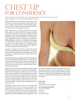 Chest Up For Confidence