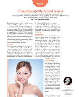 Threadface Lifts Brief Review